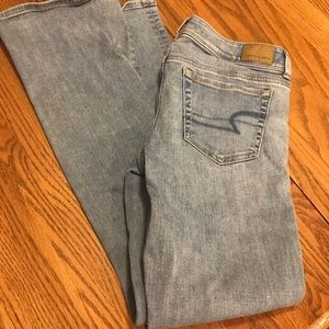 2 pair of American Eagle jeans